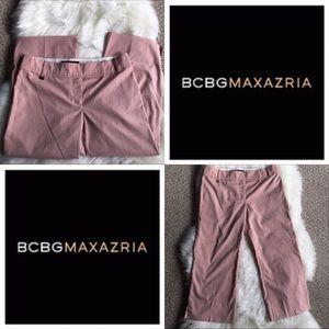 Pink BCBG Maxazria Capri Pants - SZ: 2